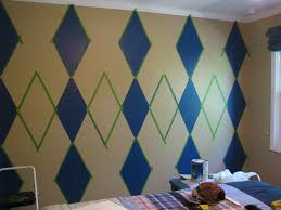 how to stencil a focal wall living room and dining room best