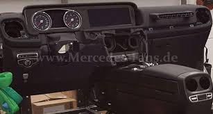 mercedes g class interior 2017 mercedes g class s interior leaked autopartgroup