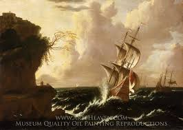 ship in a marine maritime paintings for sale painted