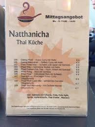 k che mannheim natthanicha thai küche mannheim restaurant bewertungen