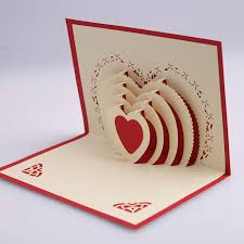 aliexpress buy 3d pop up greeting cards wedding