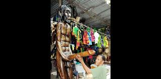 jamaican wood sculptures standing firm despite criticism lead stories jamaica gleaner