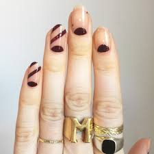 nail art tutorial negative space for autumn 2016 nail it