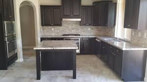 Prefab Granite Kitchen Countertops by Bianco Antico Granite With Spit Face Travertine Backsplash
