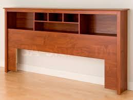 Storage Bed With Headboard Prepac Sonoma King Platform Storage Bed Bookcase Headboard