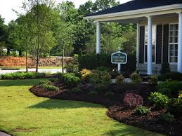 exciting sloped landscaping ideas for front yard images decoration
