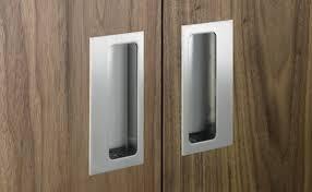 Recessed Cabinet Door Pulls Sliding Closet Door Finger Pull Cabinet Hardware Room Simple