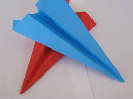 how to make a paper plane for the plane catapult cub scouts