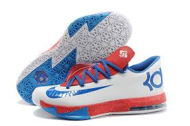 nike kevin durant kd 6 vi white blue for sale new