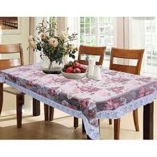 dining table cover clear kuber industries dining table cover flower design printed clear
