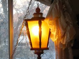 golden color shades vintage lamp post style hanging swag lamp golden color hanging