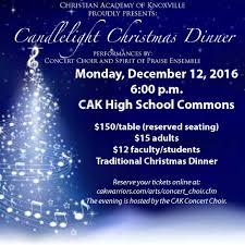 christmas dinner order online concert choir christian academy of knoxville
