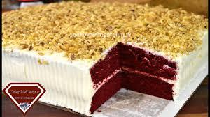 my 1st red velvet sheet cake how to make a sheet cake