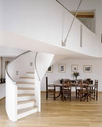 stair fair home design ideas with white spiral staircase design