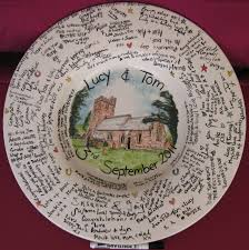 wedding signing plate galleries home images signing plate rather than a ordinary