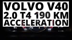 volvo logo 2016 volvo v40 2 0 t4 190 hp at acceleration 0 100 km h youtube