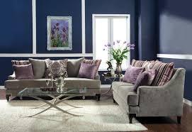 Purple And Grey Sofa Set Furniture Of America Allendari Gray Velvet Upholstered 2 Piece