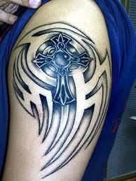immortal tattoo design art tribal celtic cross tattoo designs