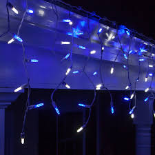 led lights 70 m5 blue and white led icicle lights