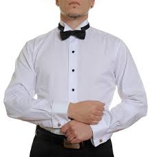 tuxedo shirt without pleats mens formal