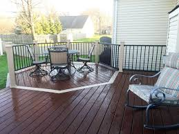 Floor Level Seating Furniture by Why A Deck Shouldn U0027t Be Level With The Home Angie U0027s List