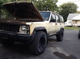 zombie hunter jeep my trimmed fenders and 32s stock height jeep cherokee forum