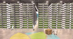 world u0027s biggest indoor vertical farm near nyc to use 95 less
