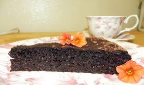 chocolate chia cake recipe sparkrecipes