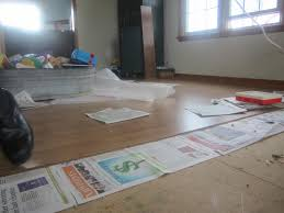Green Underlay For Laminate Flooring Cardboard Underlayment For Laminate Flooring Raising The Circus