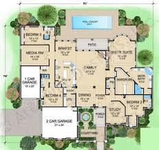 House Plans With Courtyard by Wellington Manor Courtyard Floor Plans Ranch Floor Plans