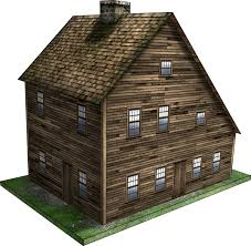 what is a saltbox house saltbox house 1 paper model dave graffam models frontier