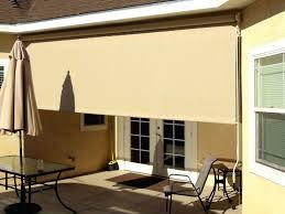 patio ideas coolaroo exterior roller shade canada sliding glass
