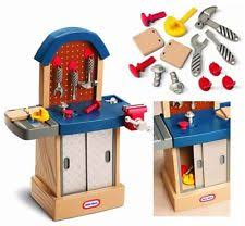 Boys Wooden Tool Bench Little Tikes Pretend Play Tool Sets Ebay