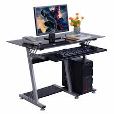 Glass Desk Office Furniture by Popular Office Glass Desks Buy Cheap Office Glass Desks Lots From