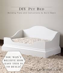 Building Plans by Diy Pet Bed U2039 Build Basic