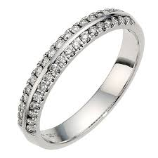 18ct white gold wedding ring 18ct white gold h samuel