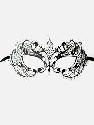 laser cut masquerade masks black diamante lace metal eye mask masque boutique