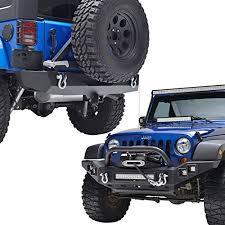led lights for jeep wrangler jk e autogrilles jeep wrangler jk width front bumper with led