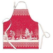 christmas and holiday kitchen aprons ebay