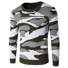 designer pullover printed mens sweater pullover high quality cotton warm