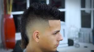modern mullet hairstyles elegant faux hawk mullet hairstyle inside faux hawk haircut fade
