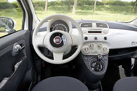 Fiat 500 Interior Fiat 500 Review And Photos