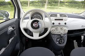 Fiat 500 Interior Fiat 500 Review And Photos