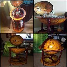 Globe Drinks Cabinet Antique Globe Ebay