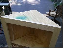how to build an corner cabinet diy corner cabinet my repurposed rescue re imagine