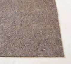 What Size Rug Pad For 8x10 Rug Premium Rug Pad Pottery Barn