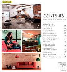 Interior Home Magazine by Contents Page Design For Your Home Magazine Design And Layout
