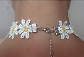 aliexpress com buy new 1pc yellow u0026 white daisy flower choker