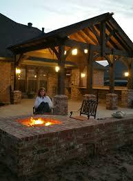 fire pit pavilion shade patio decor pinterest pavilion