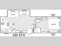 Cougar Trailers Floor Plans Used 2005 Keystone Rv Cougar 290 Efs Fifth Wheel At Campers Inn